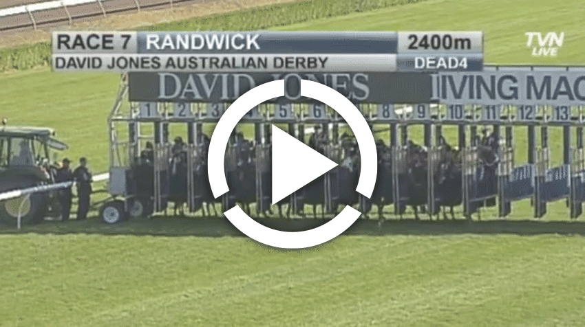 Australian Derby Replay 2013
