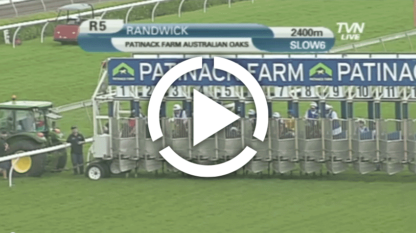 Australian Oaks Replay 2012