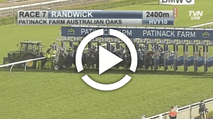 Australian Oaks Replay 2013
